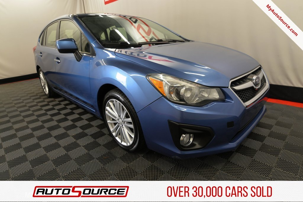 Pre Owned 2014 Subaru Impreza Wagon 2 0i Limited Hatchback In Lindon