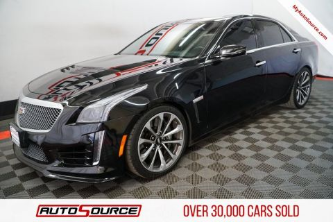 Pre-Owned 2016 Cadillac CTS-V Sedan Base
